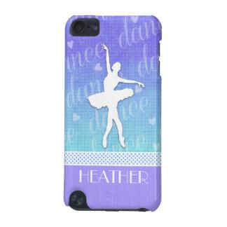 Pendiente del azul - bailarín apasionado de la funda para iPod touch 5G