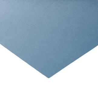 Pendiente del azul de acero papel de seda pequeño