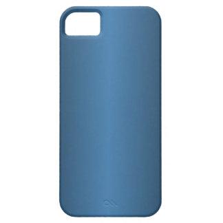Pendiente del azul de acero y del negro funda para iPhone 5 barely there