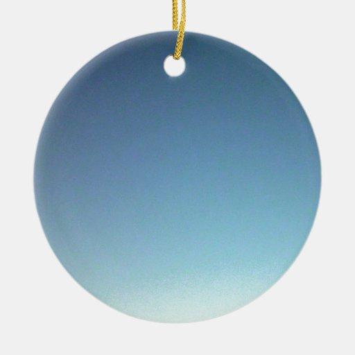 Pendiente del cielo azul ornamentos para reyes magos