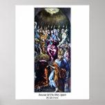 Pendiente del Espíritu Santo de El Greco Impresiones
