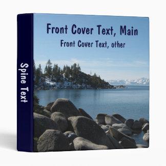 Pendiente el lago Tahoe del norte