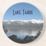Pendiente, el lago Tahoe del norte Posavasos Personalizados