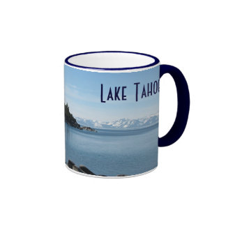 Pendiente, el lago Tahoe del norte Taza A Dos Colores