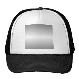 Pendiente gris y blanca horizontal gorros