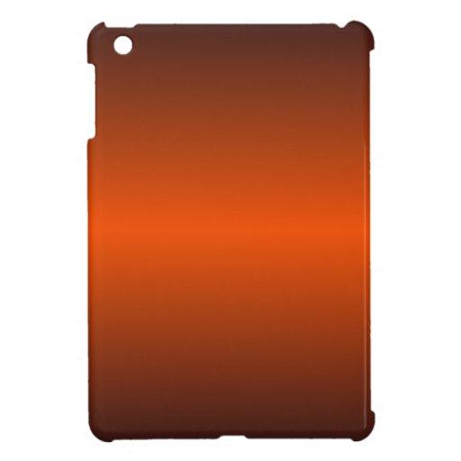 Pendiente horizontal de Brown del Tangelo y de sel iPad Mini Protector