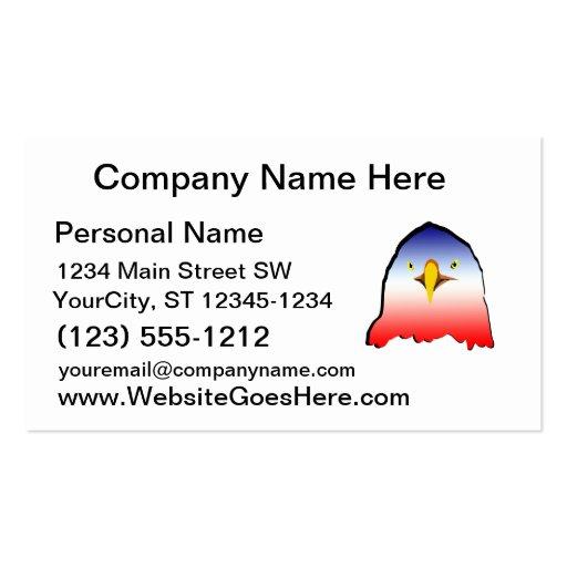 pendiente horizontal del esquema blanco azul del r tarjeta personal