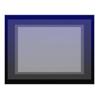 pendiente inferior negra superior azul marino plantilla de membrete