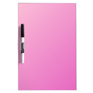 Pendiente linear D1 - rosa clara al rosa oscuro Pizarras Blancas De Calidad