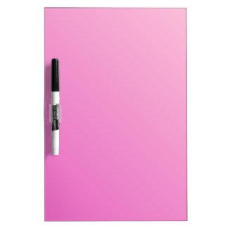 Pendiente linear D2 - rosa clara al rosa oscuro Pizarras