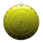 Pendiente linear de H - amarillo al negro Tablero Dardos