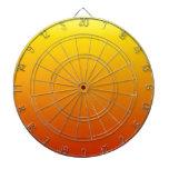 Pendiente linear de H - amarillo al rojo Tabla Dardos