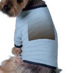 Pendiente linear de H - blanco a Brown Camisa De Perrito