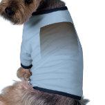 Pendiente linear de H - Brown al blanco Camisetas De Mascota