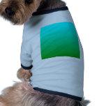 Pendiente linear de H - ciánica al verde Camisas De Perritos