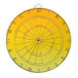 Pendiente linear de H - naranja a amarillear Tablero De Dardos