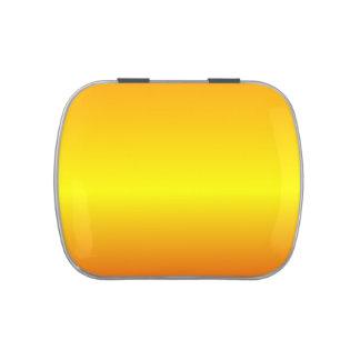 Pendiente linear de H - naranja amarillo rojo Frascos De Caramelos