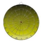 Pendiente linear de H - negro al amarillo Tablero De Dardos