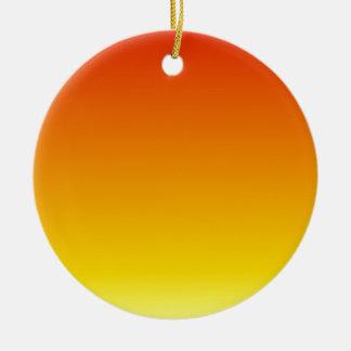 Pendiente linear de H - rojo al amarillo Ornaments Para Arbol De Navidad
