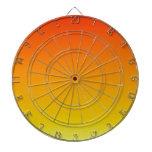 Pendiente linear de H - rojo al amarillo Tablero Dardos
