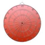 Pendiente linear de H - rosa al rojo Tabla Dardos