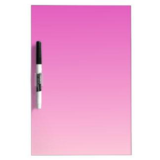 Pendiente linear de H - rosa oscuro a rosa claro Pizarra