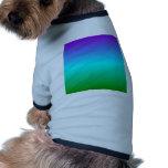 Pendiente linear de H - violeta, ciánico, verde Camisetas De Perrito