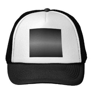 Pendiente negra y gris horizontal gorra