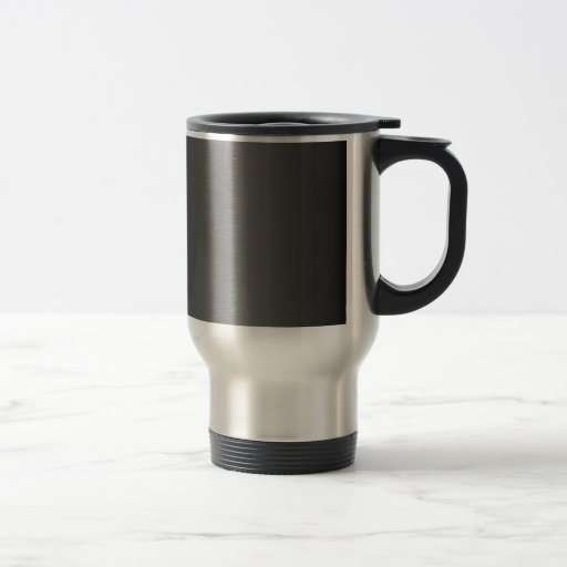 Pendiente negra y gris taza de café