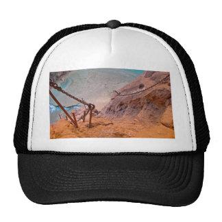 Pendiente precaria gorra
