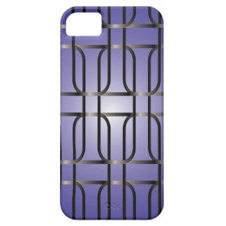 Pendiente púrpura de la alambrada funda para iPhone SE/5/5s