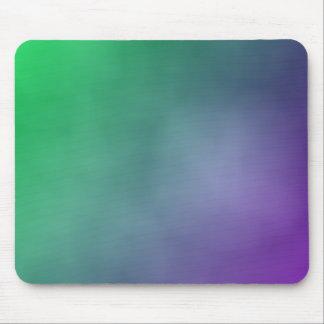 Pendiente púrpura verde tapetes de raton
