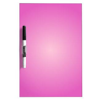Pendiente radial - rosado y rosa claro oscuros pizarra blanca