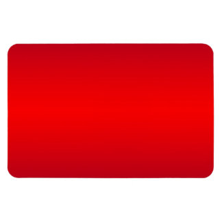 Pendiente roja nuclear - espacio en blanco de la imán rectangular