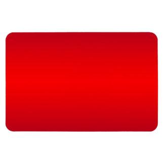 Pendiente roja nuclear - espacio en blanco de la p imán rectangular