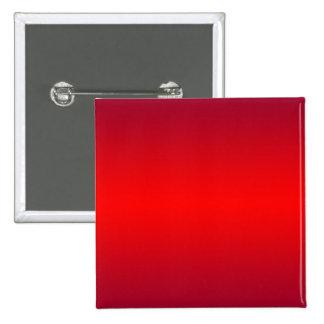Pendiente roja nuclear - espacio en blanco de la p pin cuadrada 5 cm
