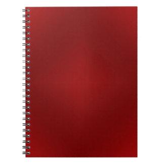 Pendiente roja sangre - plantilla rojo oscuro modi libreta