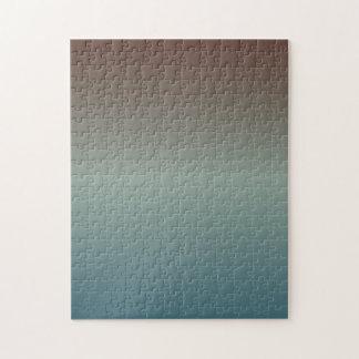 Pendiente Rojo-Gris Azul-Gris Puzzle