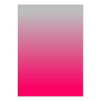 Pendiente rosada y gris tarjetas de visita grandes