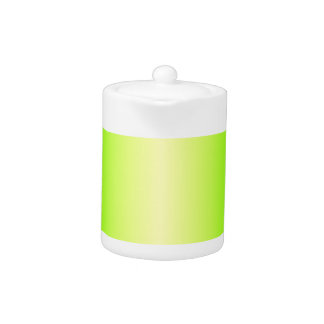 Pendiente verde amarilla y eléctrica eléctrica