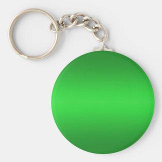 Pendiente verde clara - plantilla B de los verdes  Llavero