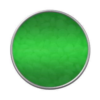 Pendiente verde clara - plantilla de los verdes latas de caramelos