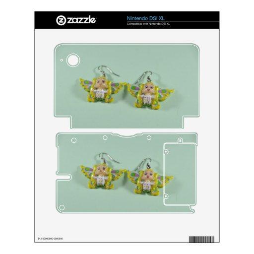 Pendientes de los ángeles skins para nintendo DSi XL