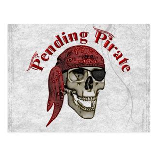 Pending Pirate Postcard