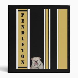 Pendleton Bulldog Binder in Black