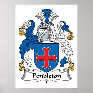 Pendleton Family Crest Print