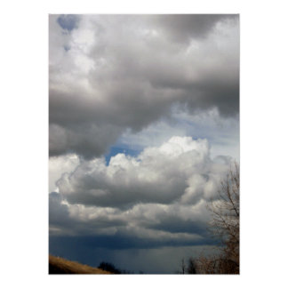 Pendleton Fluffy Clouds Poster