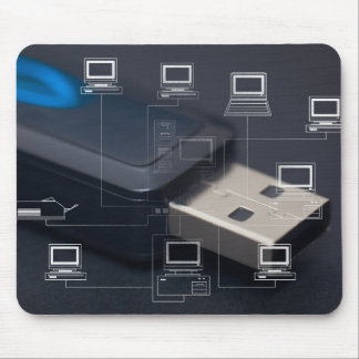 Pendrive Mouse Pad