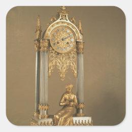 Pendule de Paris, c.1830 Square Sticker