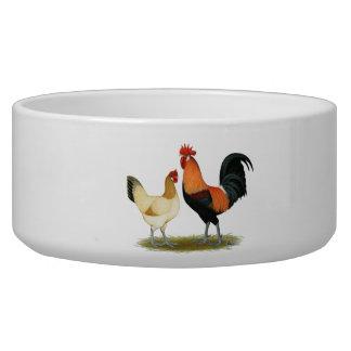 Penedesenca Chickens Dog Bowl